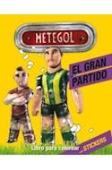 Papel METEGOL EL GRAN PARTIDO LIBRO PARA COLOREAR (CON STICKERS)