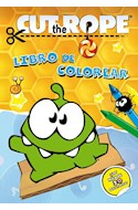 Papel CUT THE ROPE LIBRO DE COLOREAR (CON MAS DE 30 STICKERS)