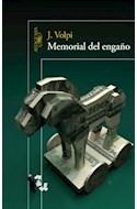 Papel MEMORIAL DEL ENGAÑO (RUSTICA)