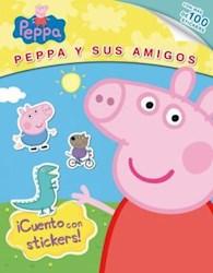 Papel Peppa Y Sus Amigos Cuento Con Stickers