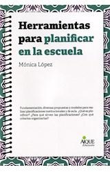 Papel HERRAMIENTAS PARA PLANIFICAR EN LA ESCUELA