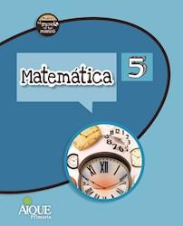 Libro Matematica 5  Nuevo El Mundo En Tus Manos