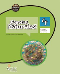 Libro Ciencias Naturales 4 Caba  Nuevo El Mundo En Tus Manos