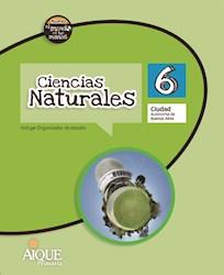 Libro Ciencias Naturales 6 Caba  Nuevo El Mundo En Tus Manos