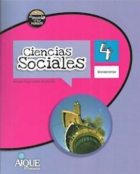 Libro Ciencias Sociales 4 Bonaerense  Nuevo El Mundo En Tus Manos