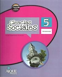 Libro Ciencias Sociales 5 Bonaerense  Nuevo El Mundo En Tus Manos