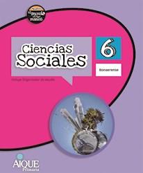 Libro Ciencias Sociales 6 Bonaerense  Nuevo El Mundo En Tus Manos