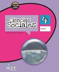 Libro Ciencias Sociales 4 Federal  Nuevo El Mundo En Tus Manos