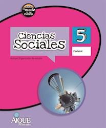 Libro Ciencias Sociales 5 Federal  Nuevo El Mundo En Tus Manos