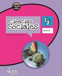 Libro Ciencias Sociales 4  Santa Fe  Nuevo El Mundo En Tus Manos