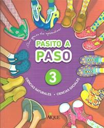 Libro Pasito A Paso 3  Naturales / Sociales