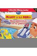 Papel MANNY A LA OBRA HERRAMIENTAS EN LA PILETA (COLECCION DI  SNEY JUNIOR 1)