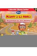 Papel MANNY A LA OBRA AVENTURAS EN MOTO (COLECCION DISNEY JUN  IOR 5)