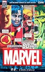 Papel Coleccion 80 Años Marvel Vol.2 Emblemas