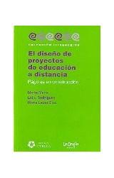 Papel EL DISEÑO DE PROYECTOS DE EDUCACION A DISTANCIA