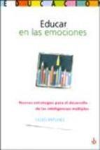 Libro Educar En Las Emociones