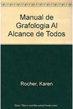 Papel MANUAL DE GRAFOLOGIA AL ALCANCE DE TODOS