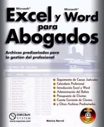 Libro Microsoft Excel Y Microsoft Word Para Abogados