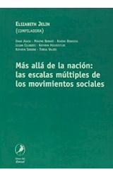 Papel MAS ALLA DE LA NACION: LAS ESCALAS MULTIPLES DE LOS MOV SOC