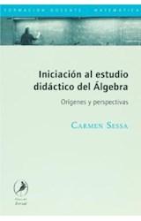Papel INICIACION AL ESTUDIO DIDACTICO DEL ALGEBRA