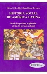 Papel HISTORIA SOCIAL DE AMERICA LATINA