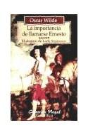 Papel IMPORTANCIA DE LLAMARSE ERNESTO - ABANICO DE LADY WINDE  RMERE (COLECCION NOGAL) (RUSTICA)