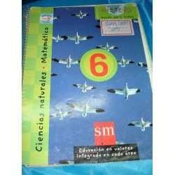 Papel Matematica Ciencias Naturales 6 Sm