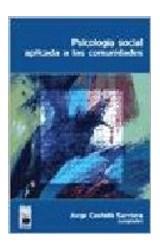 Papel PSICOLOGIA SOCIAL APLICADA A LAS COMUNIDADES