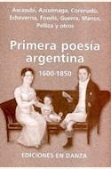 Papel PRIMERA POESIA ARGENTINA 1600-1850