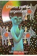 Papel ULTIMA POESIA ARGENTINA