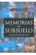 Papel MEMORIAS DEL SUBSUELO