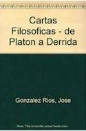 Papel CARTAS FILOSOFICAS DE PLATON A DERRIDA