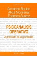 Papel PSICOANALISIS OPERATIVO (A PROPOSITO DE LA GRUPALIDAD