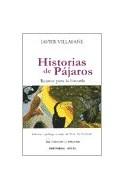 Papel HISTORIAS DE PAJAROS RELATOS PARA LA ESCUELA (COLECCION  LA ANDARIEGA)
