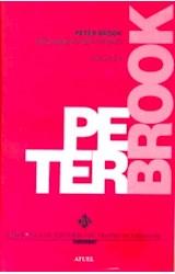 Papel PETER BROOK TEATRO SAGRADO Y TEATRO INMEDIATO