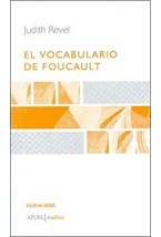 Papel EL VOCABULARIO DE FOUCAULT
