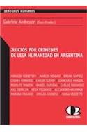 Papel JUICIOS POR CRIMENES DE LESA HUMANIDAD EN ARGENTINA (DE  RECHOS HUMANOS)