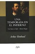 Papel UNA TEMPORADA EN EL INFIERNO (EDICION BILINGUE) (RUSTICA)