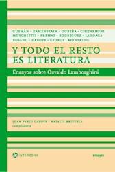 Libro Y Todo El Resto Es Literatura