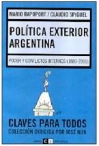 Papel POLITICA EXTERIOR ARGENTINA - CLAVES PARA TODOS