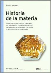 Libro Historia De La Materia