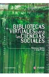 Papel BIBLIOTECAS VIRTUALES PARA LAS CIENCIAS SOCIALES