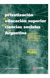 Papel PRIVATIZACION DE LA EDUCACION SUPERIOR Y LAS CIENCIAS SOCIAL
