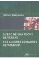 Papel SUEÑO DE UNA NOCHE DE VERANO - LAS ALEGRES COMADRES DE WINDSOR (COLECCION EDICIONES CLASICAS)