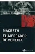 Papel MACBETH - MERCADER DE VENECIA (EDICIONES CLASICAS)