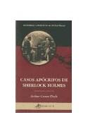 Papel CASOS APOCRIFOS DE SHERLOCK HOLMES (HISTORIAS COMPLETAS DE SHERLOCK HOLMES)