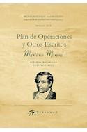 Papel PLAN DE OPERACIONES Y OTROS ESCRITOS (COLECCION PENSAMIENTO ARGENTINO) (RUSTICA)