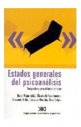 Papel ESTADOS GENERALES DEL PSICOANALISIS