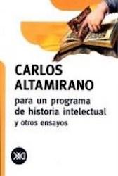 Libro Para Un Programa De Historia Intelectual Y Otros Ensayos