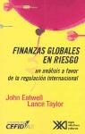 Libro Finanzas Globales En Riesgo